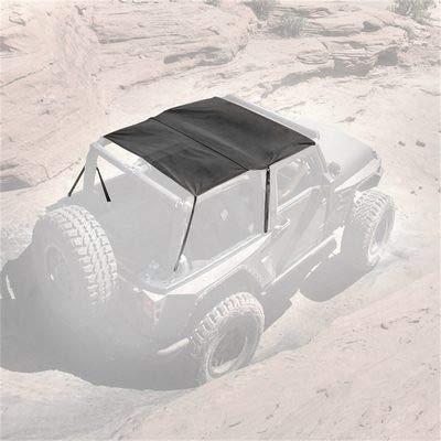 2010 Jeep Wrangler Diamond - Smittybilt 94235 Black Diamond Extended Top for Jeep JK 2-Door
