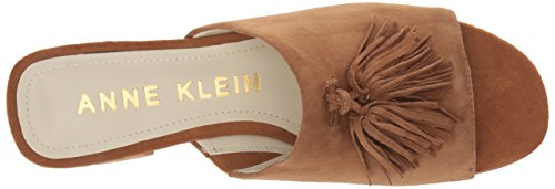Sandal Dark Natural Anne Suede Klein Salome Heeled Women's X0wpYqf