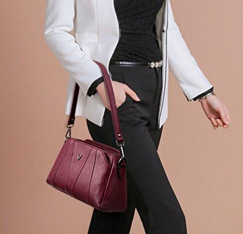 Messenger Élégant Bag Main Sacs Multi Mesdames Winered Voyage Casual Poches Bandoulière Sac à à n4z00xqSw