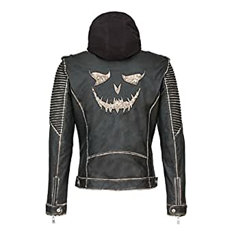 Joker The Killing Jacket Suicide Squad Black Real Leather
