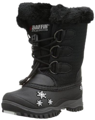 Baffin Shari Snow Boot (Toddler),Black,5 M US Toddler