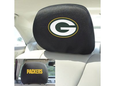 - FANMATS 12498 Head Rest Cover NFL (Green Bay Packers)