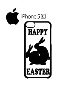 Happy Easter Rabbit Sex Mobile Cell Phone Case Cover iPhone 5c Black