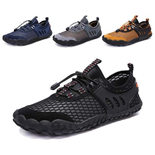 DoGeek Water Shoes Slip-On Aqua Shoes Men Adults Beach Shoes for - Shoes Neoprene Aqua