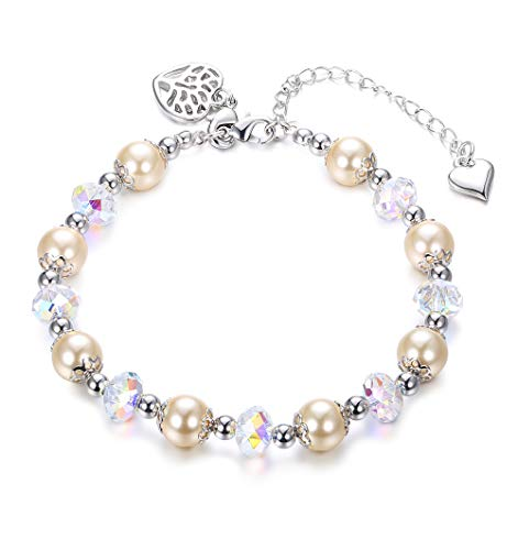 Pearl Crystal Jewelry - 8