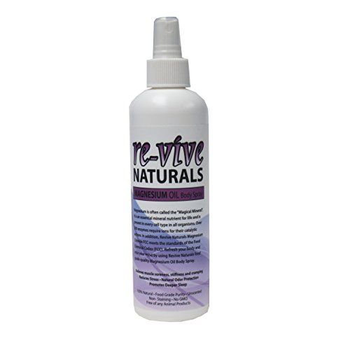 Re vive Naturals Magnesium Spray Quality