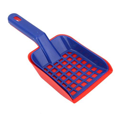 1 Set Plastic Cat Pet Animal Litter Tray Poop Sieve & Scoop Scooper Shovel (Breeze Litter Scooper)