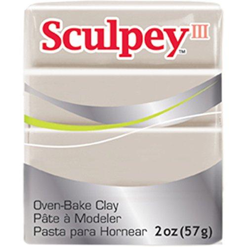 Sculpey Iii Polymer Clay 2oz-Elephant Gray (Elephant Clay)