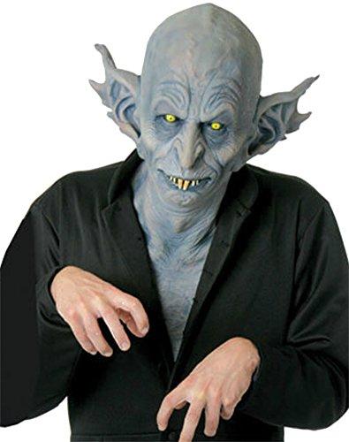 Nosferatu Vampire Blood Sucker Demon Horror Latex Adult Halloween Costume Mask - Nosferatu Vampire Mask