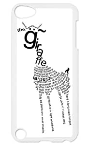Giraffe Animal Cover Pet Giraffe Back case cover for Apple iPod Touch 5th Generation iPod touch 5