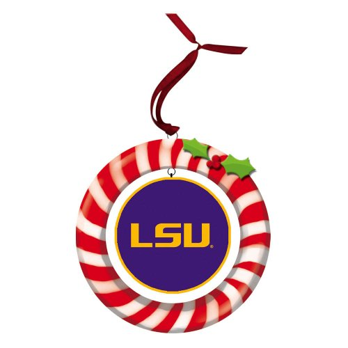 Tigers Candy Cane Ornament - 6