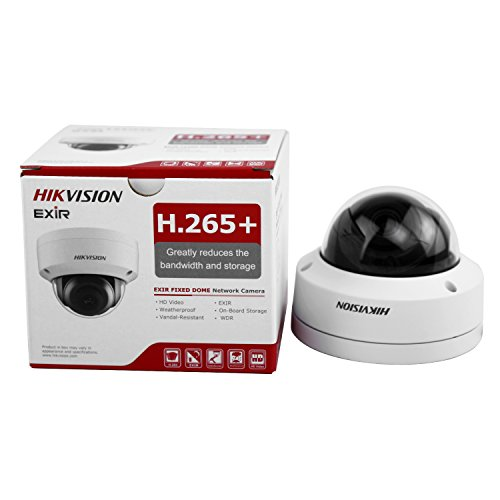 HIKVISION DS-2CD2185FWD-I 8MP IP Camera (DC12V&PoE 30m IR Built-in SD Slot H.265 IP67 IK10 3D DNR 3-axis Adjustment) (4mm) Review