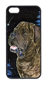 Starry Night Mastiff Cell Phone Cover IPHONE 5