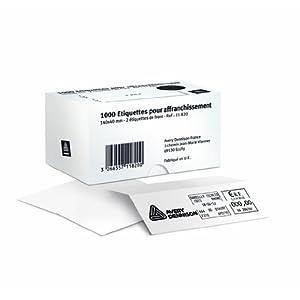 Avery Zweckform 11-822 - Etiquetas para franqueo (500 unidades, adhesivas, 140 x 40 mm)