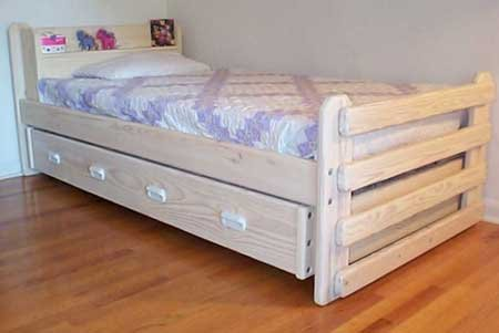 Trundle Bed DIY Woodworking Plan to Build Your Own Majestic Model
