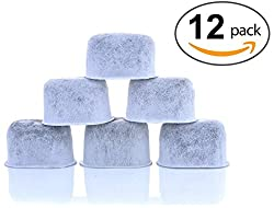 12-pack Keurig Compatible Water Filters By K&j - Universal Fit (Not Cuisinart) Keurig Compatible Filters - Replacement Charcoal Water Filters For Keurig 2.0 (& Older) Coffee Machines