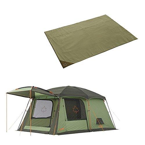 ロゴス 2点セット neos PANELコテージ L-AE テントぴったり防水マットL テント 防水 LOGOS 71805016 71809604