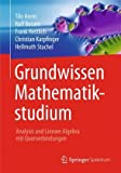 Book Cover for Grundwissen Mathematikstudium - Analysis und Lineare Algebra mit Querverbindungen (German Edition)