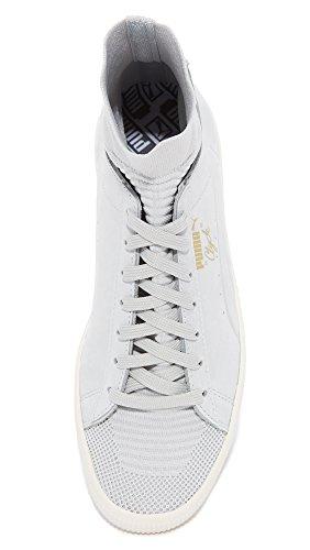 PUMA Select Men's Clyde Select Sock Sneakers, Grey Violet, 13 D(M) US