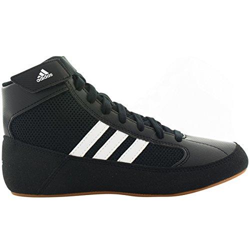 Hommes Adidas Chaussures Chv Bleu Synthétique De Lutte Up Dentelle De Sport Noir / Blanc
