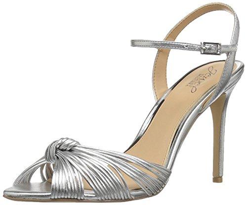 Sandalo Con Tacco Donna Badgley Mischka Gioiello Donna Argento