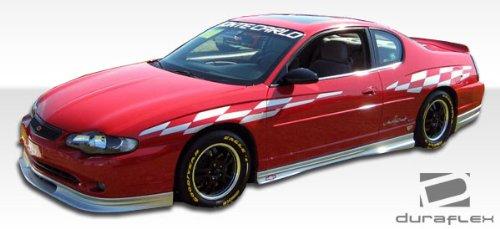 2000-2007 Chevrolet Monte Carlo Duraflex Racer Side Skirts Rocker Panels - 2 - Chevrolet Racer Carlo Fiberglass Monte