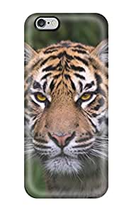 For Iphone 6 Plus Tpu Phone Case Cover(tiger)