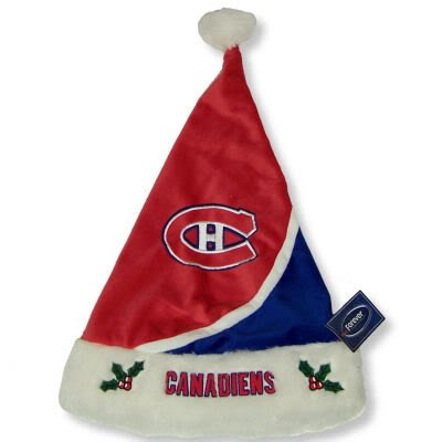 Montreal Canadiens 2010 Swoop Colorblock Santa Hat -