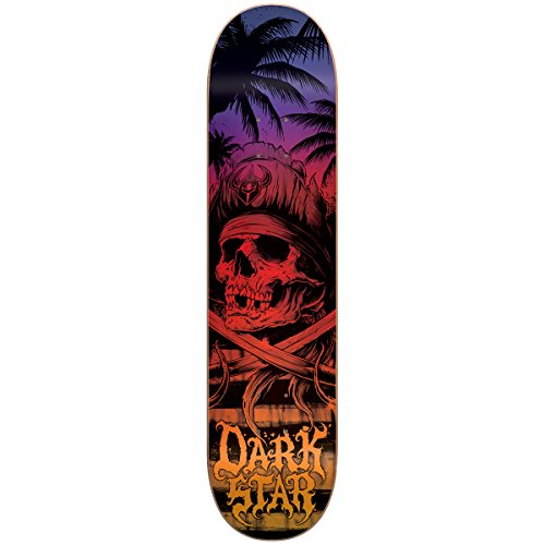 Darkstar Skateboard Deck (Darkstar Helm Skateboard Deck, Sunset Fade,)