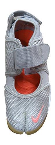 Nike Wmns Air Rift, Zapatillas de Deporte Para Mujer Blanco (Light Bone / Bright Mango)