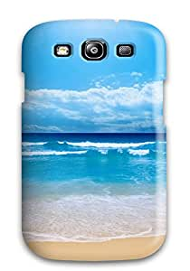 Tpu Case Cover Compatible For Galaxy S3/ Hot Case/ Blue Waters