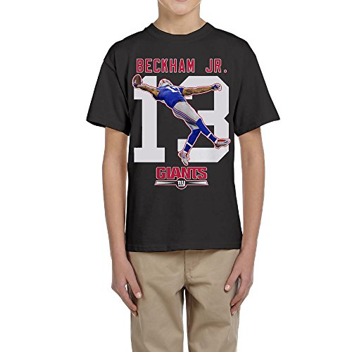 Price comparison product image Adolescent's Germproof Short Sleeves T Shirts With Odell Beckham Jr Logo