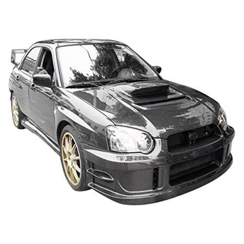 (VIS Racing (VIS-OGX-103) V Line Style Hood Carbon Fiber - Compatible for Subaru WRX 2004-2005 (2004 2005 | 04 05))