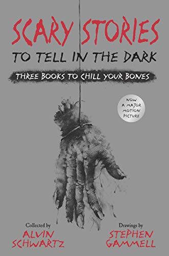 Scary Stories to Tell in the Dark: Three Books to Chill Your Bones: All 3 Scary Stories Books with the Original Art! (A Scary Story To Tell In The Dark)