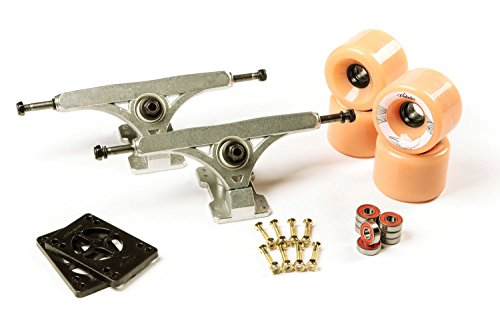 - LONGBOARD TRUCKS COMBO set 71mm SHR WHEELS + 9.675