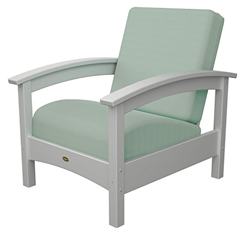 (Trex Outdoor Furniture Rockport Club Chair in Classic White / Spa)