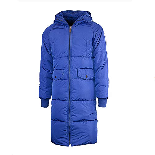 Price comparison product image Dressin_Coat Men's Packable Hooded Down Puffer Jacket Winter Warm Lightweight Quilted Windproof Coat Outdoor