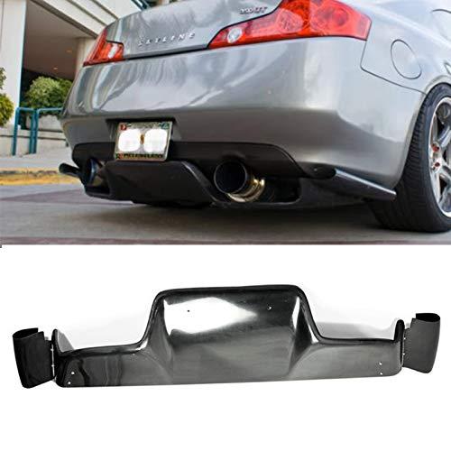- EPR for Nissan FRP Fiber Glass 03-08 Z33 350z Infiniti G35 Coupe 2D JDM TS Style Rear Bumper Diffuser Lip 6Pcs (with Fitting Kits)