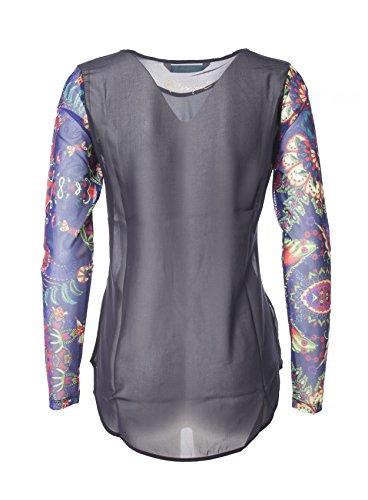Para Clothing Camisas Mujer Desigual Azul ZpSXqx6