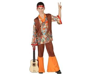 Atosa-23670 Disfraz Hippie, color naranja, 5 a 6 años (23670 ...