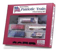 Amazon Com Micro Trains Special Edition Patriotic Train