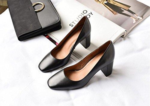 Mujeres a Novia Sandalias Alto Las a Zapatos Vestido Fecha Los Boda Oficina Corte La Black De Fiesta Clover Tacón Zapatos Lucky Parpadear Pfqw5zq