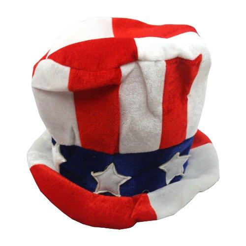 Patriotic Felt Top Hat