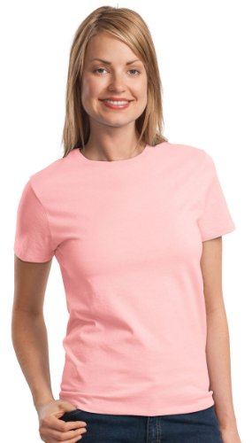 Port & Company Women's Essential T Shirt XL Pale (6.1 Ounce T-shirt)