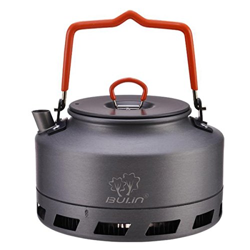 Tentock Outdoor Fast Heating Tea Pot Portable Hard Aluminum Camping Kettle 1L/1.6L(1.6L)