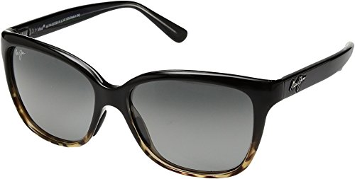 Maui Jim Starfish Polarized Sunglasses - Women's Black with Tortoise / Neutral Grey One - Cat Maui Maui Jim