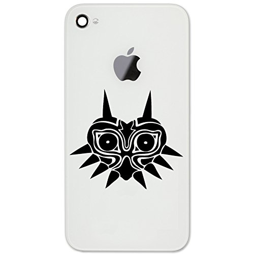 """Majora's Mask Legend of Zelda Inspired Silhouette Vinyl Cell Phone Decal for The iPhone or Android (Black 2"""" Wide) from Decal Serpent"""