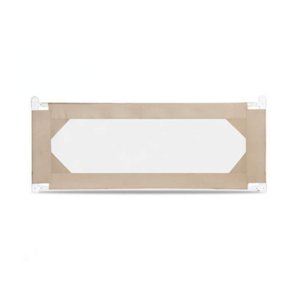 XIAOMEI,安全フェンス 80CM高さ垂直持ち上げ幼児チャイルドベビーベッドガードレールフェンスアンチフォールディングベッドバッフル3カラー-1.5-1.8-2M ベッドの手すり (色 : C, サイズ さいず : 1.5M) 1.5M C B07L2676M4