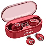 True Wireless Earbuds, 16H Playtime, Bluetooth Headphones 5.0 Mini Stereo Headset with Microphone