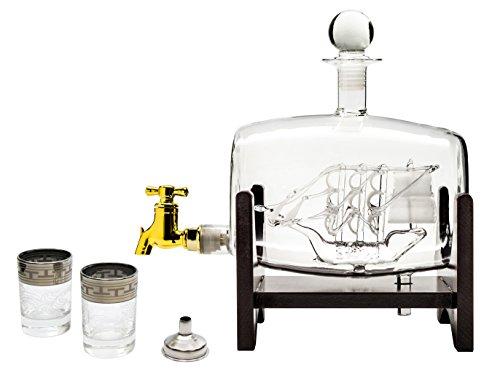 glass barrel beverage dispenser - 4